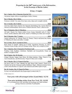 Flyer - 10 days - Reformation Tour to Germany  Prague - Wartburg_Page_2