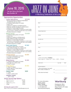 2015 Wartburg Jazz in June Sponsorship Form Final